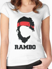RAMBO Design Women's Fitted Scoop T-Shirt