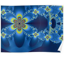 Multicolored Butterflies Poster