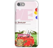 Love is forever iPhone Case/Skin