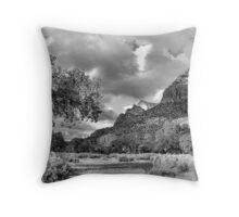 Zion Canyon Afternoon Throw Pillow