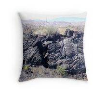 Valley of Fires Throw Pillow