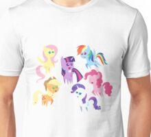 Chibi Mane 6 Unisex T-Shirt