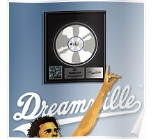 J.Cole Platinum Album Artwork Poster