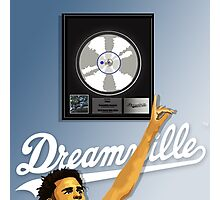 J.Cole Platinum Album Artwork Photographic Print