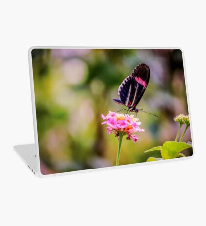 Thirsty Tropical Butterfly Laptop Skin