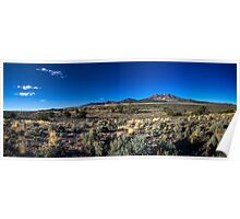 Panorama of the Utah Desert Poster