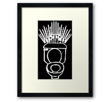 Throne of Games Framed Print
