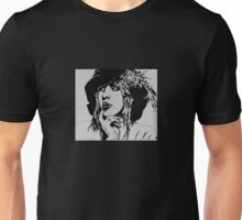 Stevie Nicks with Feathered Beret Unisex T-Shirt