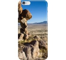 Small arch in the west desert of Utah iPhone Case/Skin