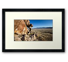 Small arch in the west desert of Utah Framed Print