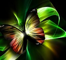 Geometric Butterfly by FantasyDesign