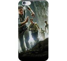if you ain't scared, you ain't human iPhone Case/Skin