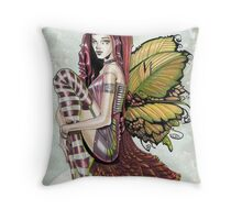Pink Corset Throw Pillow