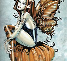 Pumpkin Fairy by Gothiquefairy