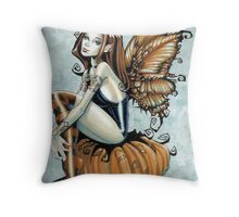 Pumpkin Fairy Throw Pillow