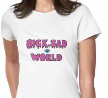 Sick, Sad World (Plain pink) Womens Fitted T-Shirt