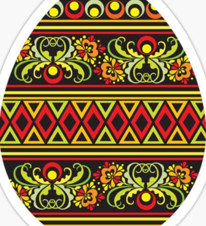easter egg_color Sticker