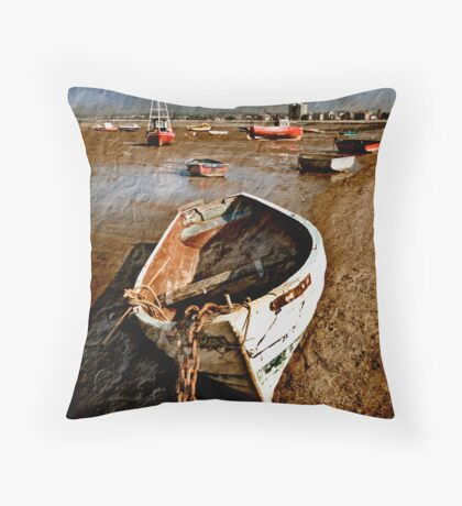 Paper Boats. Throw Pillow