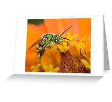 Metallic Greeting Card