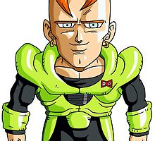 Android 16 Chibi by DOPEFLVR