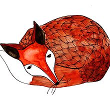 Red Fox by frauottilie