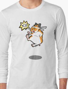 Karate hamster Long Sleeve T-Shirt