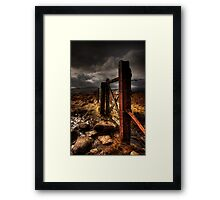 Gate Framed Print