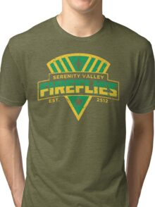 Serenity Valley Fireflies Tri-blend T-Shirt