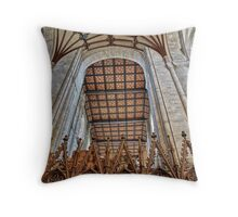 Norman Arch - Winchester Cathedral Throw Pillow