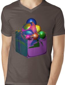 Thinking Outside Of The Box Mens V-Neck T-Shirt