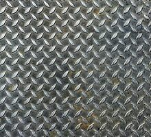 Grunge Metal Grate by staticnoise