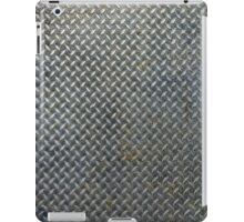 Grunge Metal Grate iPad Case/Skin