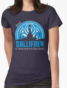 Visit Gallifrey Womens Fitted T-Shirt