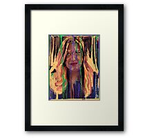 What are you drawing Ryan 187 Framed Print