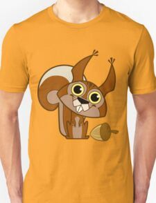 Squirrel and Nut Unisex T-Shirt