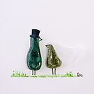 Bird says 'tweet' - Wedding couple by Sandra O'Connor
