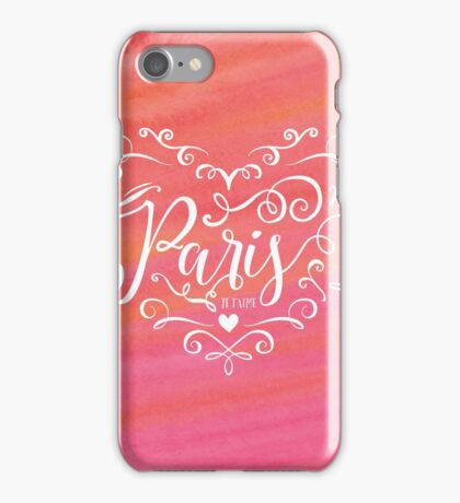 Oui, Paris. iPhone Case/Skin
