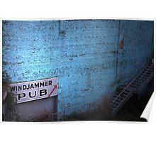 windjammer pub Poster