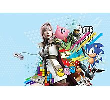 Video Games Mix Photographic Print
