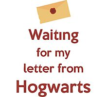 Waiting for my letter from Hogwarts Photographic Print