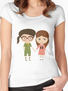 Moonrise Kingdom Women's Fitted Scoop T-Shirt