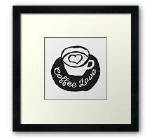 Coffee Love Framed Print