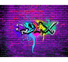 Relax Graffiti Photographic Print