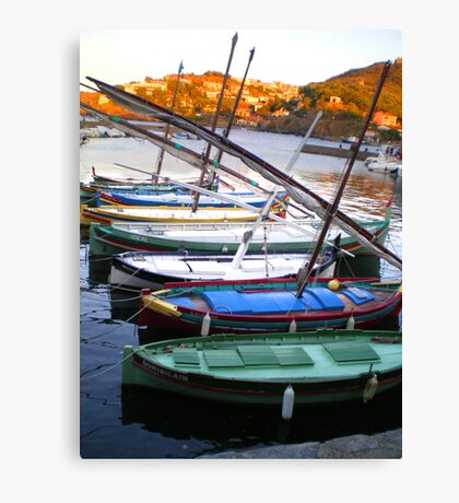 barque catalane Canvas Print