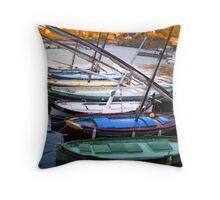 barque catalane Throw Pillow