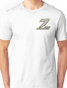 Kimi Raikkonen #7 (Formula One Race Number) Unisex T-Shirt