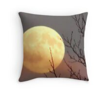 Oct Moon 2008 Throw Pillow