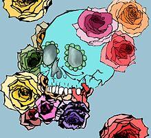 dia de los muertos  by tjesje