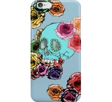 dia de los muertos  iPhone Case/Skin