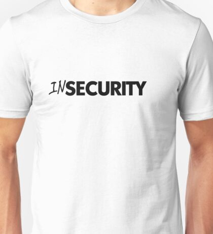In security - black Unisex T-Shirt